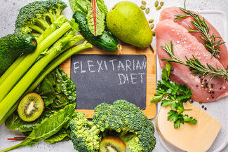 Flextarian diet